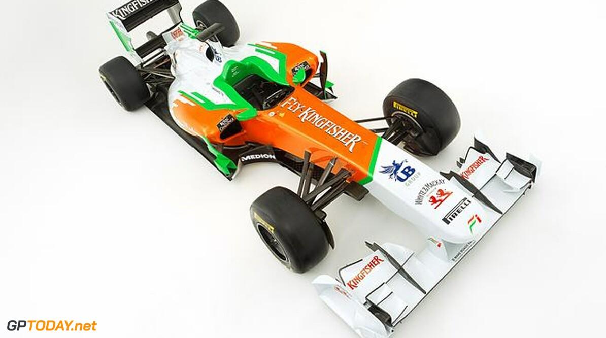 Force India VJM05 beleeft ook roll-out op 3 februari op Silverstone