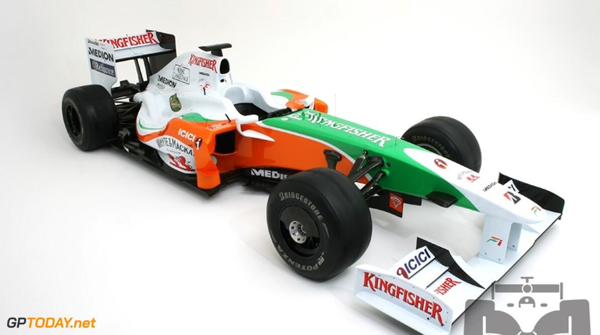 Force India probeert Amerikaan Hildebrand uit bij test in Jerez