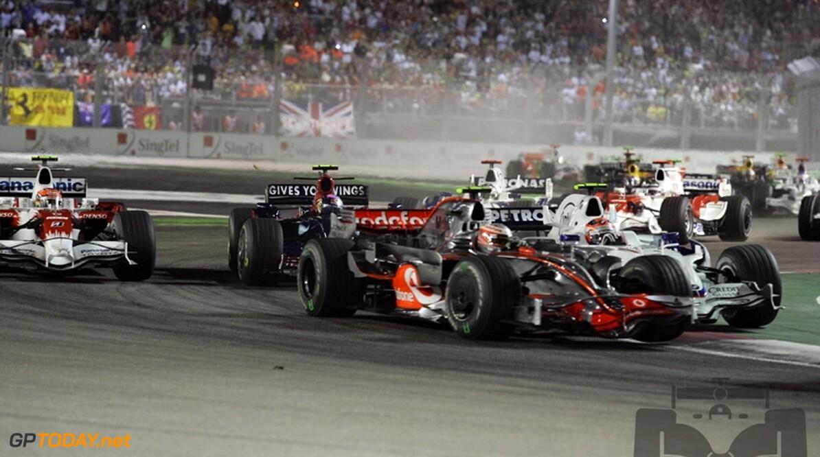 Grand Prix trekt meer kijkers in Singapore dan Olympische Spelen