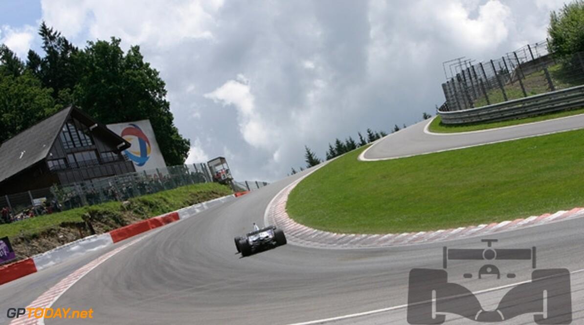 Weersvoorspelling voor Spa-Francorchamps: Kleine kans op regen