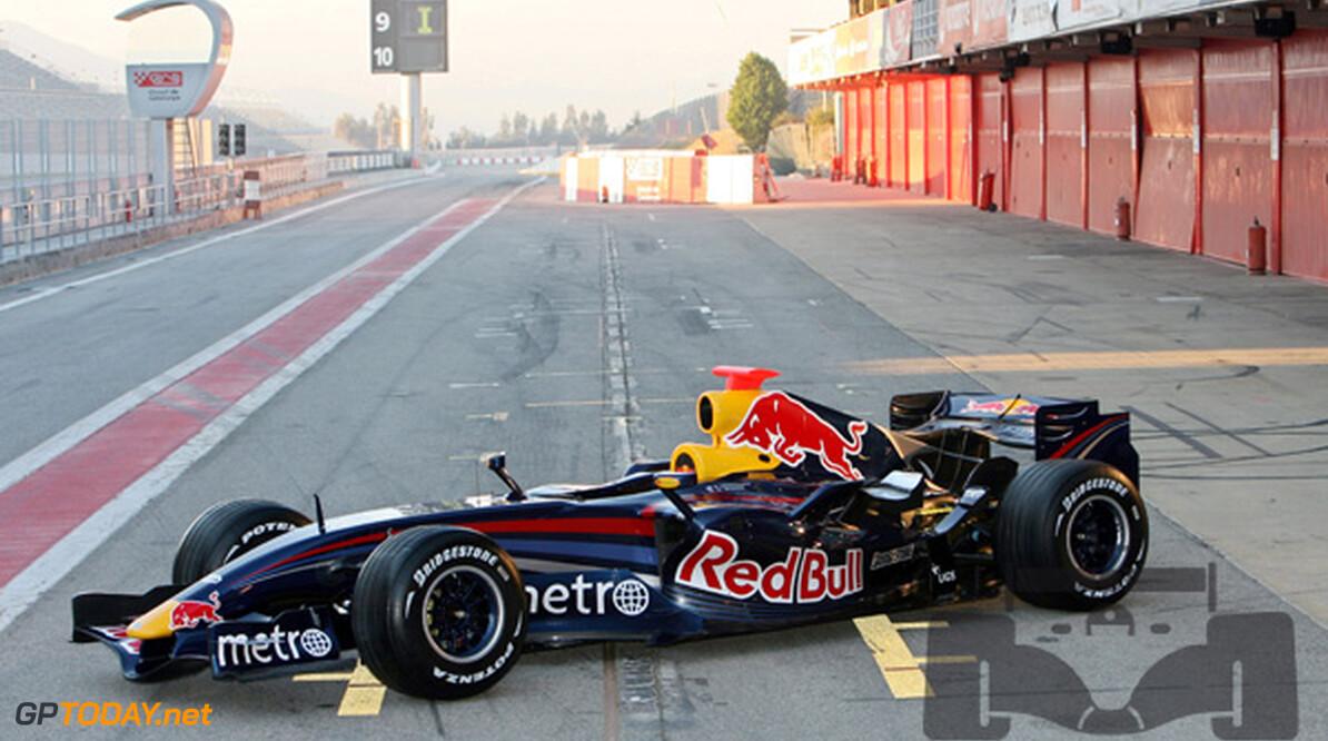 Nieuwe Red Bull Racing-auto debuteert in Jerez