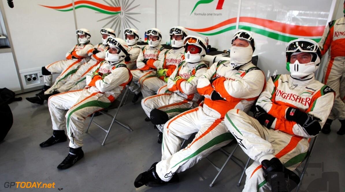 Force India en partner STL sluiten nieuw driejarig contract