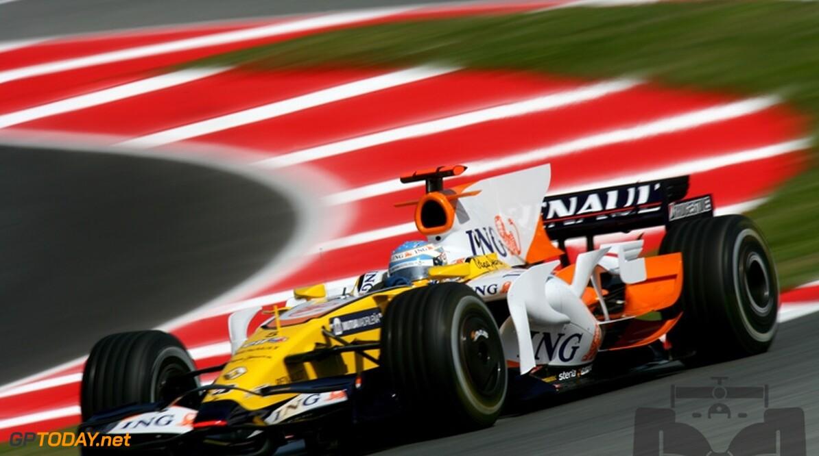 Beide Renault-coureurs na hoopvol weekend toch met lege handen