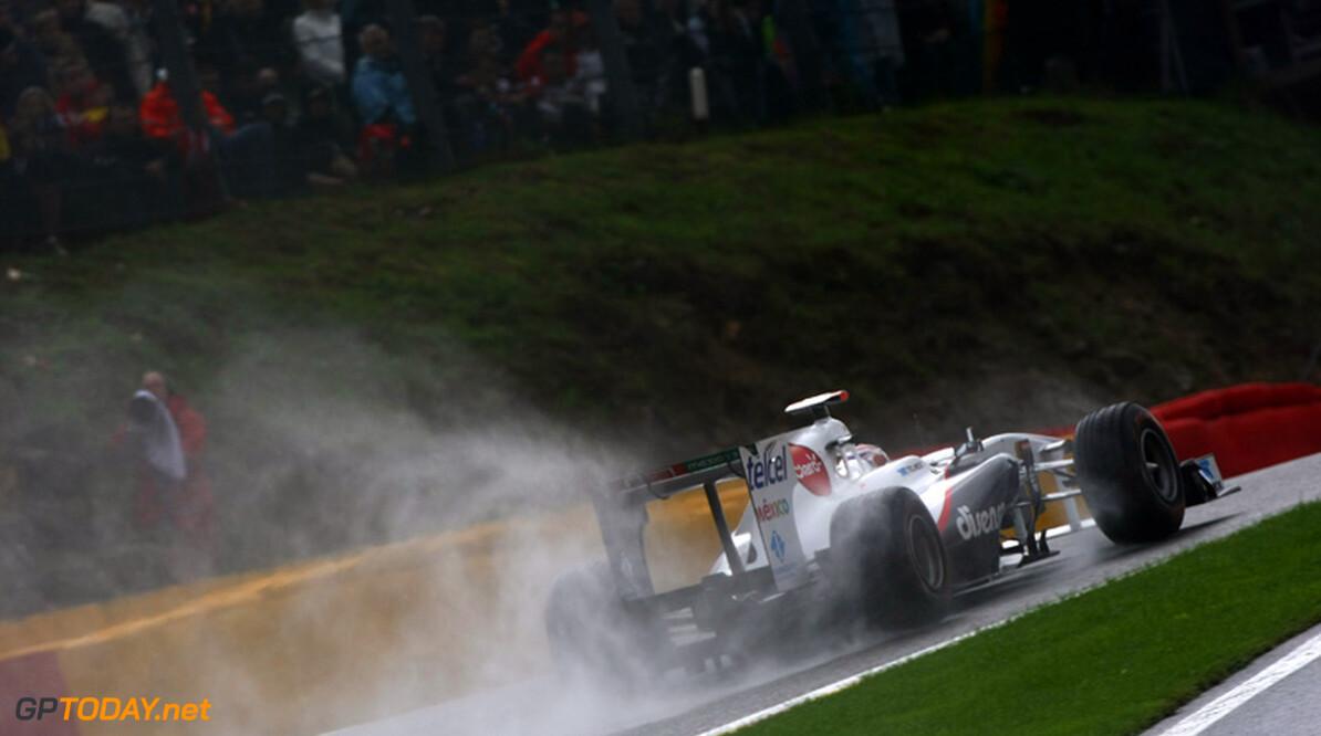 "Sergio Perez: ""Crash was de eigen schuld van Buemi"""