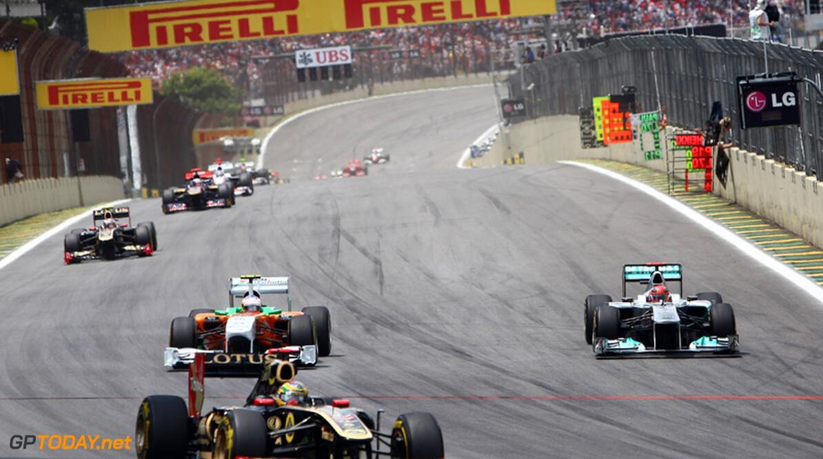 FIA vaardigt nieuwe sportieve reglementen uit voor 2012