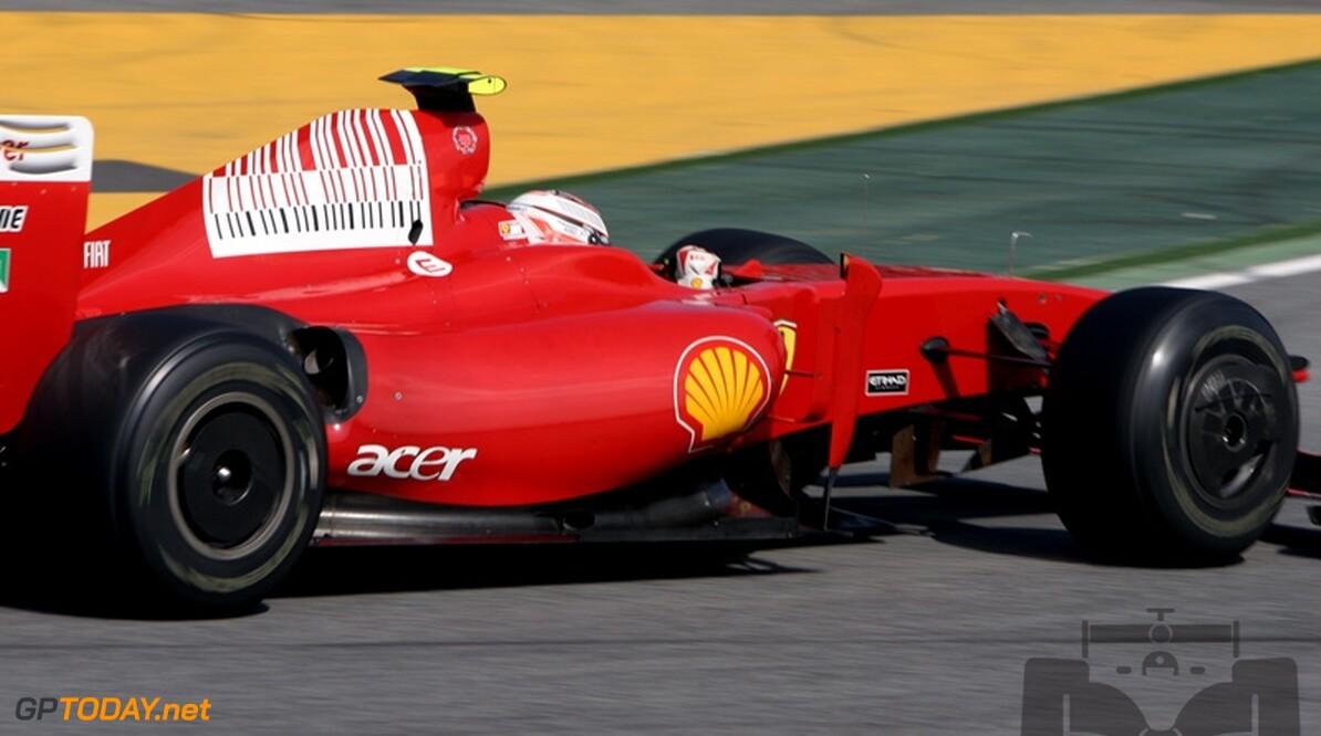 Ferrari loopt tegen problemen met koeling KERS aan