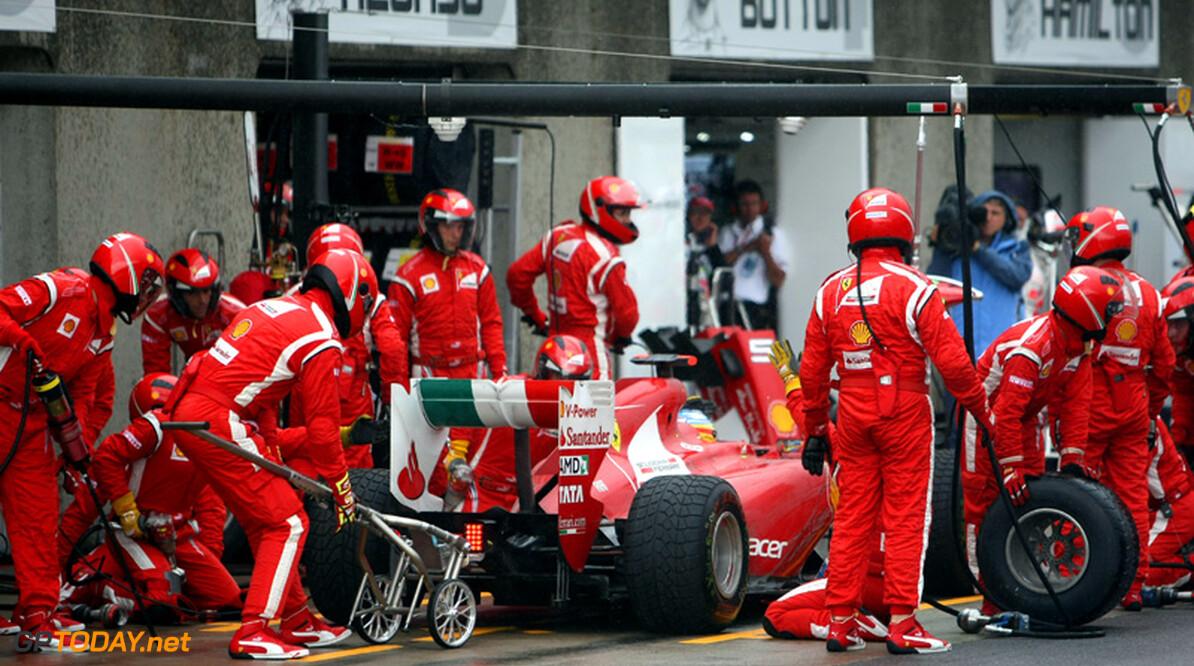 """Ferrari: """"We hebben nog wat te doen om pitstops te perfectioneren"""""""