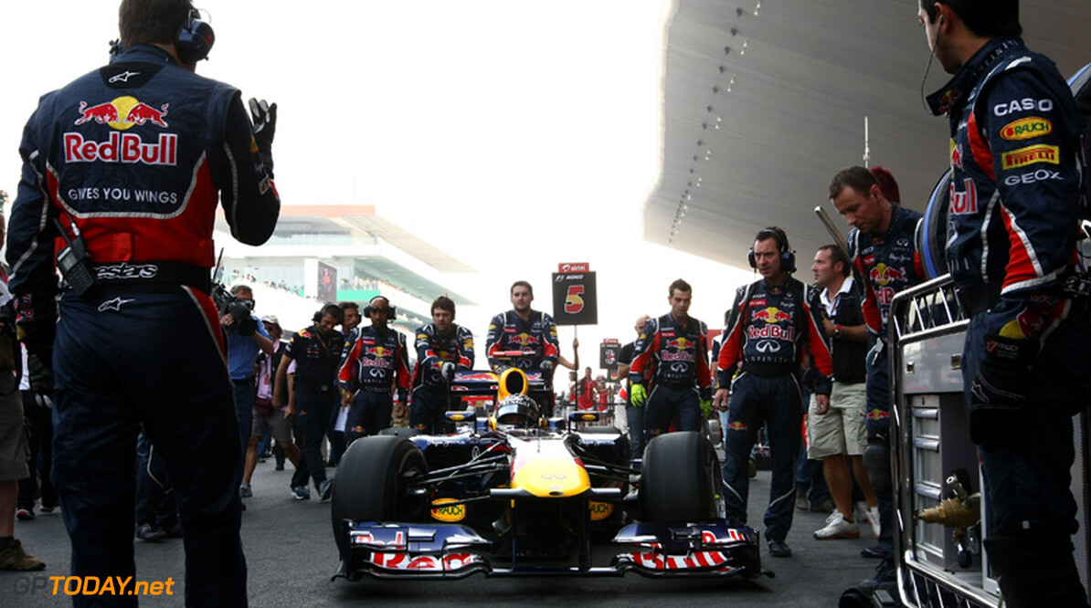 Red Bull Racing RB7 en Buddh International Circuit winnen awards