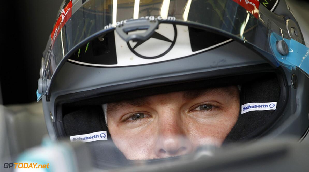 """Rosberg: """"Ik was bijna de hele race sneller dan Schumacher"""""""