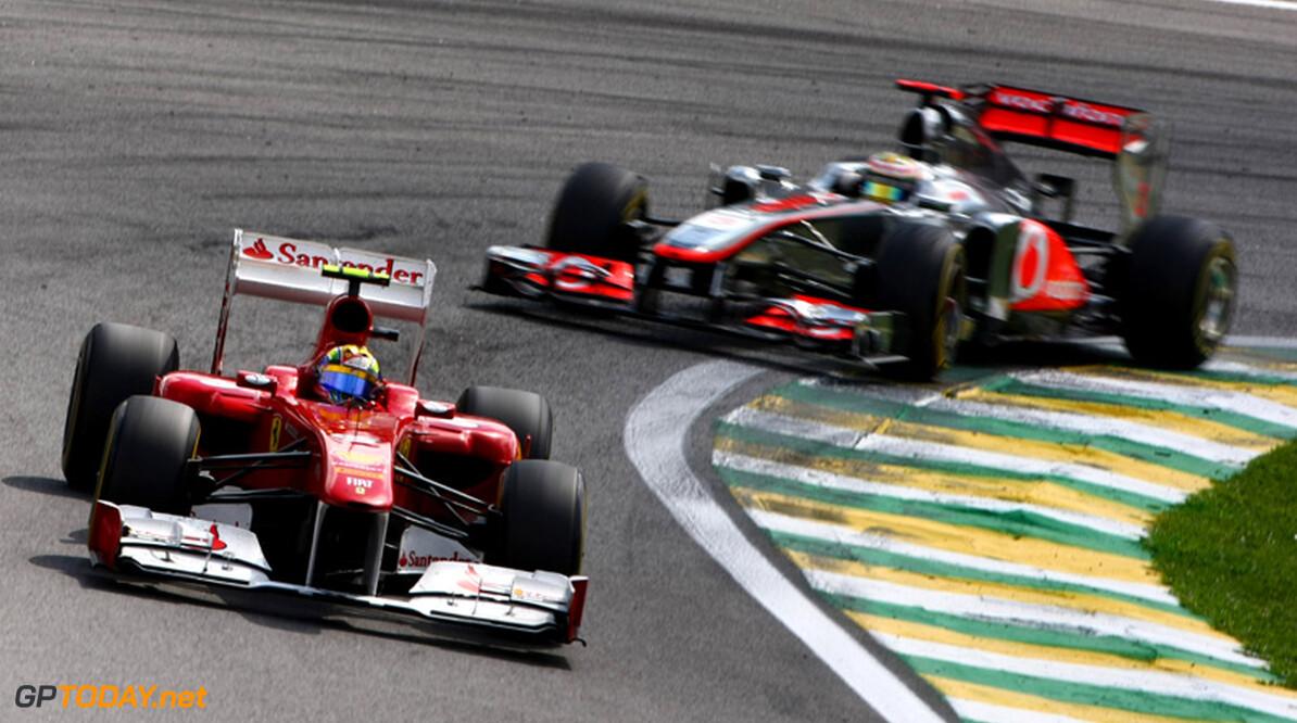 Red Bull Racing brengt rivalen McLaren en Ferrari dichter bij elkaar
