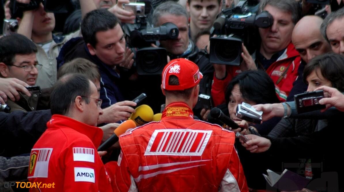 Schumacher weigerde vacature van Ferrari-teambaas