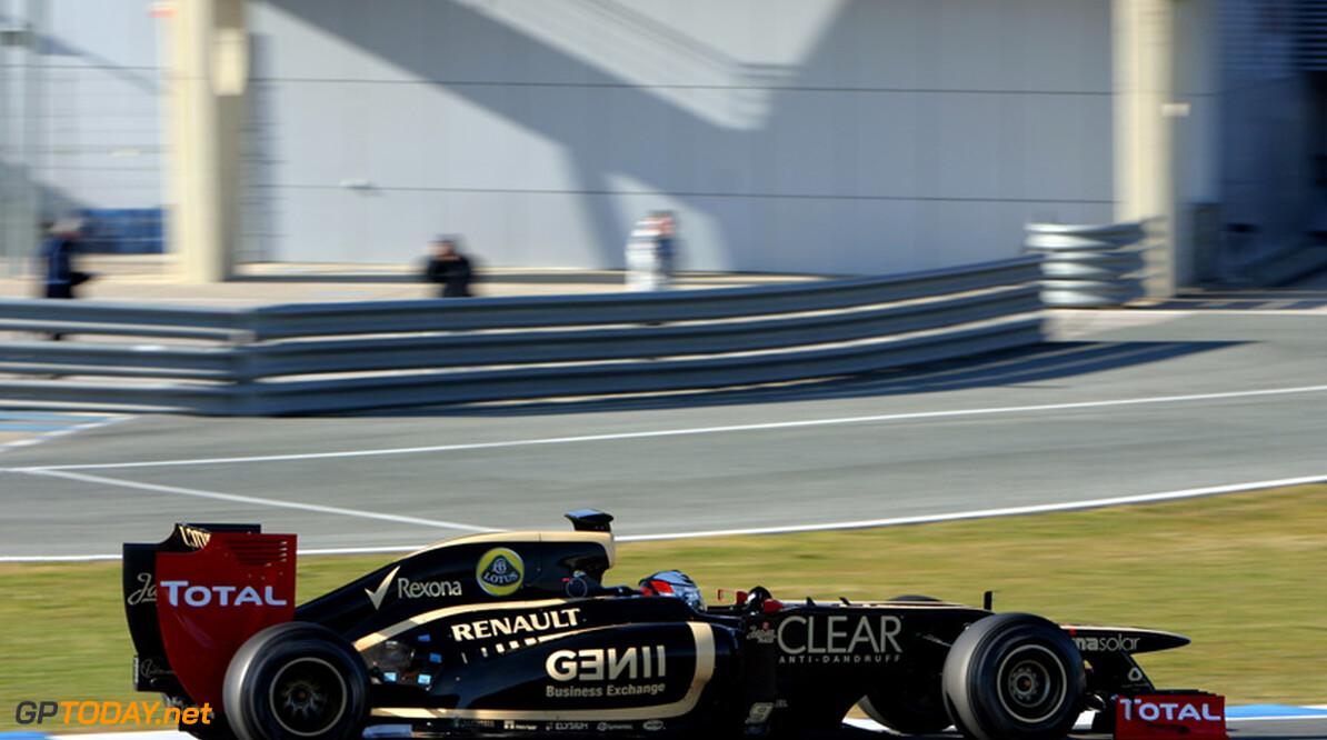 """Lotus: """"Imago Raikkonen ver verwijderd van werkelijke Kimi"""""""
