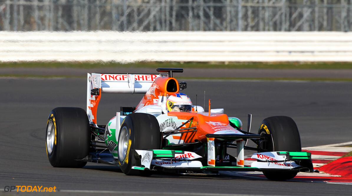 <b>Foto's:</b> Di Resta rijdt eerste meters met Force India VJM05