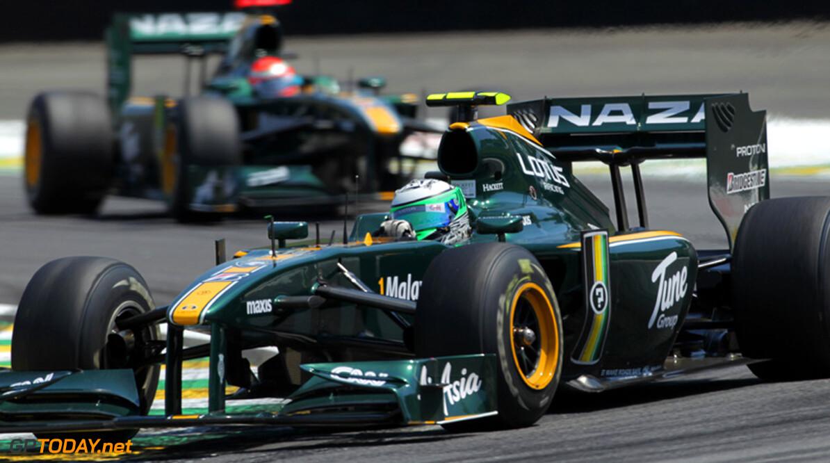 Team Lotus ook volgend jaar met groen/gele livery