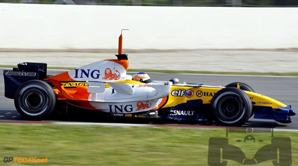 Renault-coureurs doen het niet goed