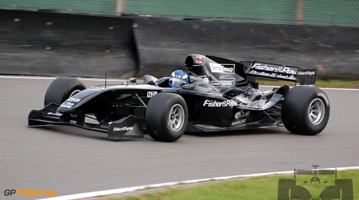 Van der Drift maakt racedebuut voor Team Nieuw-Zeeland