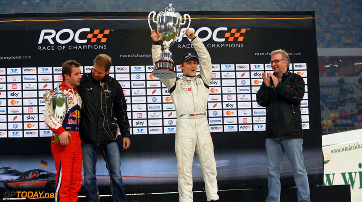 <b>RoC:</b> Filipe Albuquerque verdedigt Race of Champions-kroon