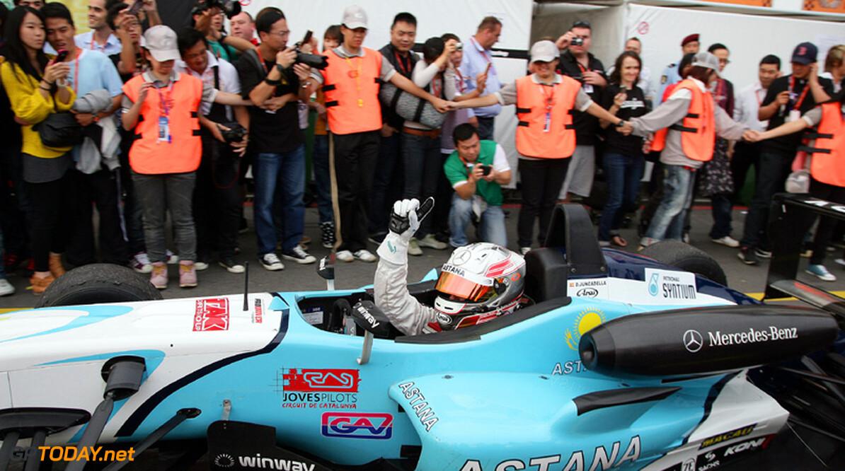 Macau-winnaar Juncadella kijkt voor 2012 naar GP2 en DTM