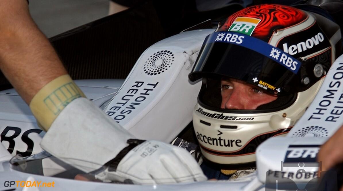 Dani Clos test KERS voor Williams op nat Jerez