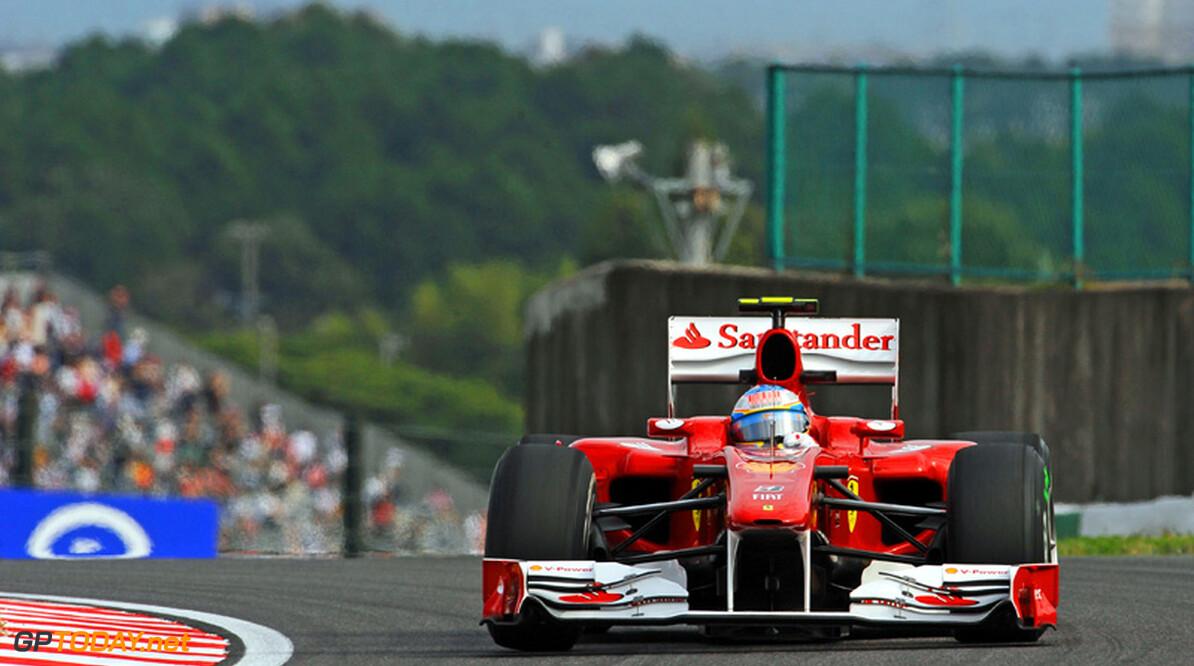 Cheever en Agostini testen op 9 november met Ferrari F10
