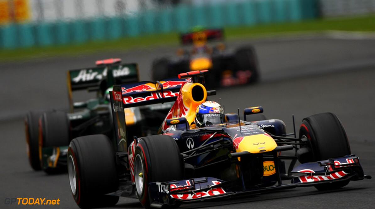 """Sebastian Vettel: """"We zijn vandaag helemaal niks wijzer geworden"""""""