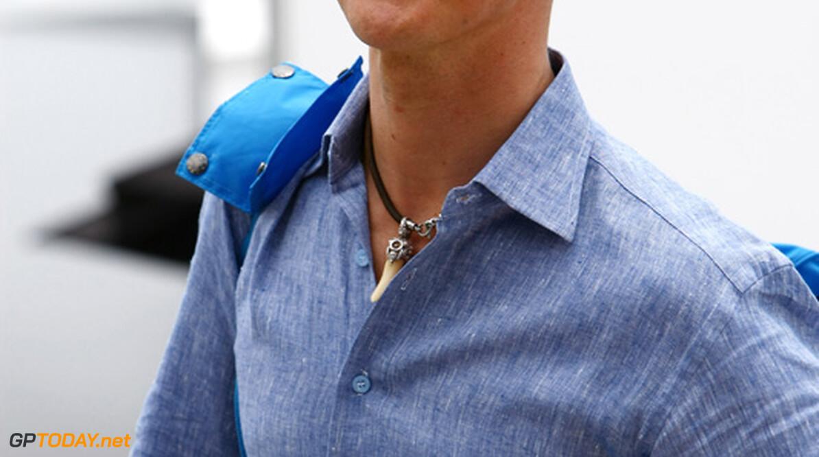 Michael Schumacher voorziet loterij in Maleisië