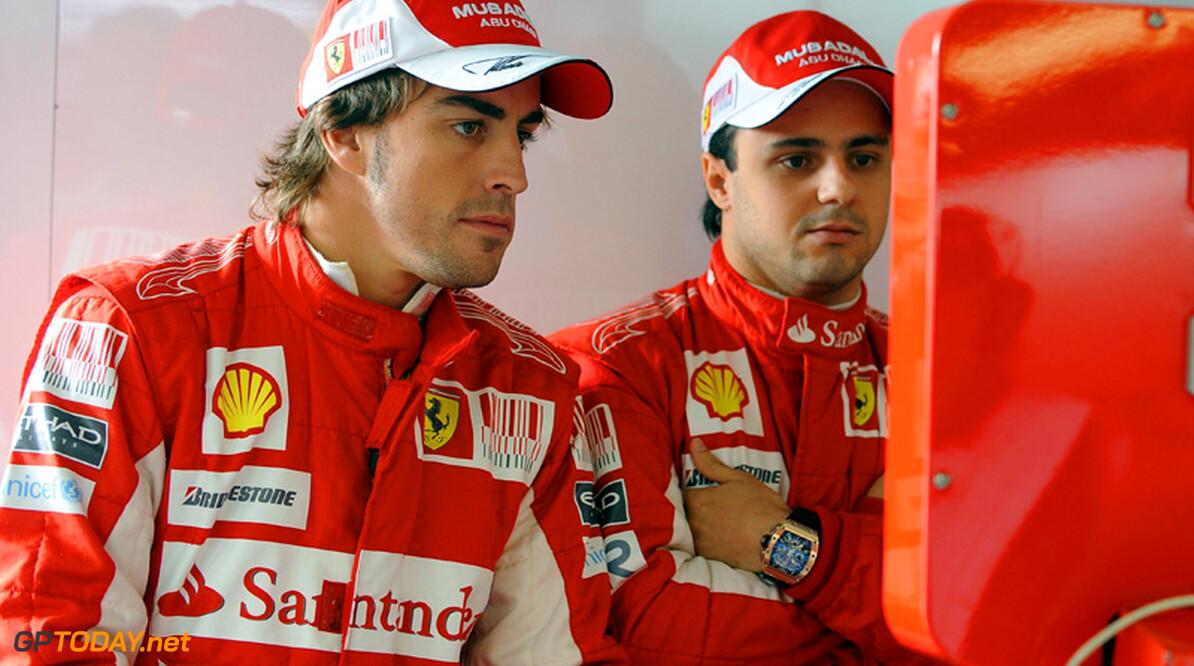 Alonso haalt voldoening uit groot verschil met Massa