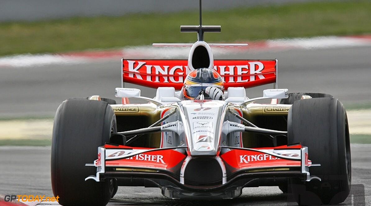 Force India test naadloze versnellingsbak