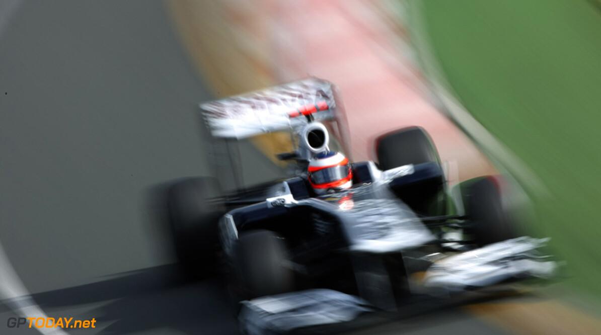 Rubens Barrichello worstelt met moderne Formule 1