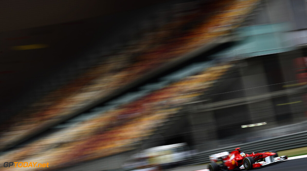 2011 Chinese Grand Prix - Saturday Shanghai International Circuit, Shanghai, China 16th April 2011 Fernando Alonso (ESP), Scuderia Ferrari World Copyright: Andrew Hone / Formula Press / LAT Photographic