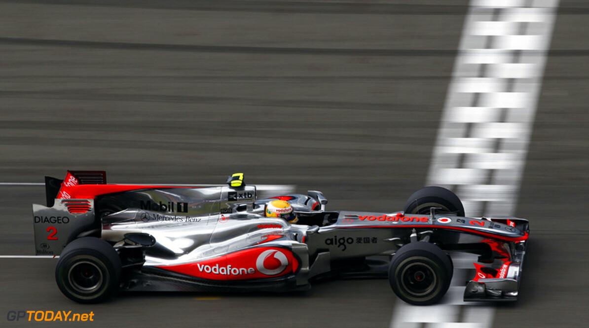 McLaren en Vodafone verlengen sponsorcontract tot eind 2013