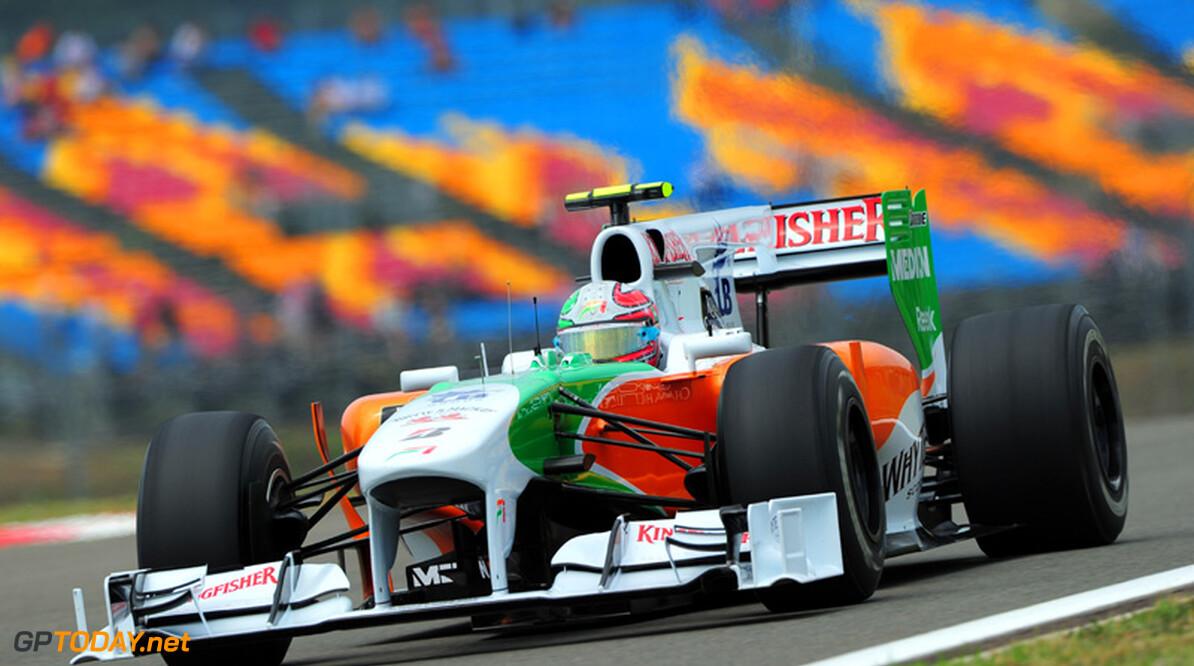 Force India verwisselt chassis van Liuzzi voor Canada
