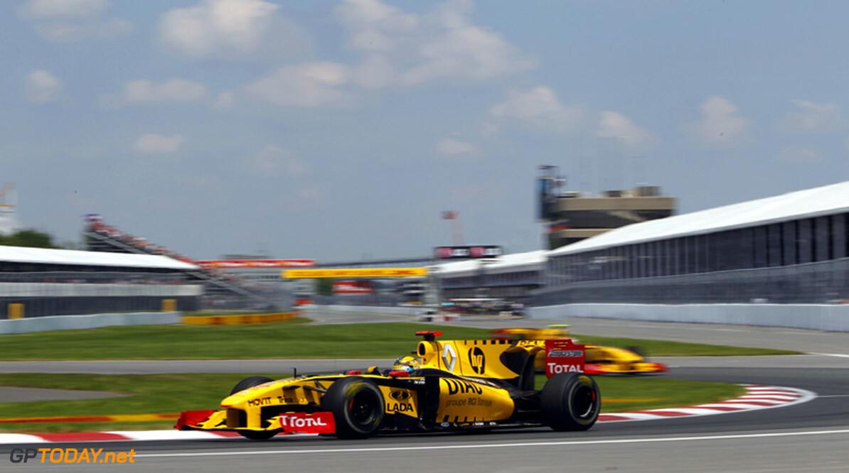 Robert Kubica rekent op sterker Renault in Valencia