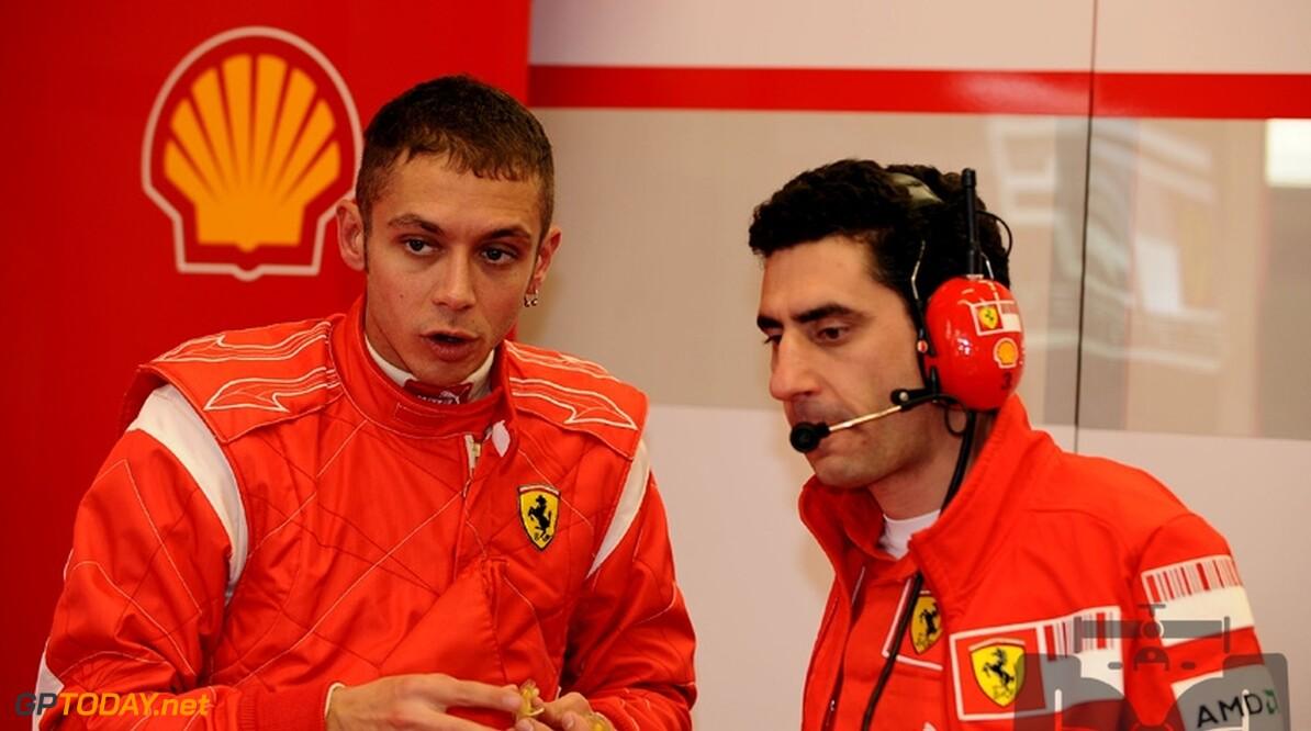 Valentino Rossi test volgende week met Ferrari in Barcelona
