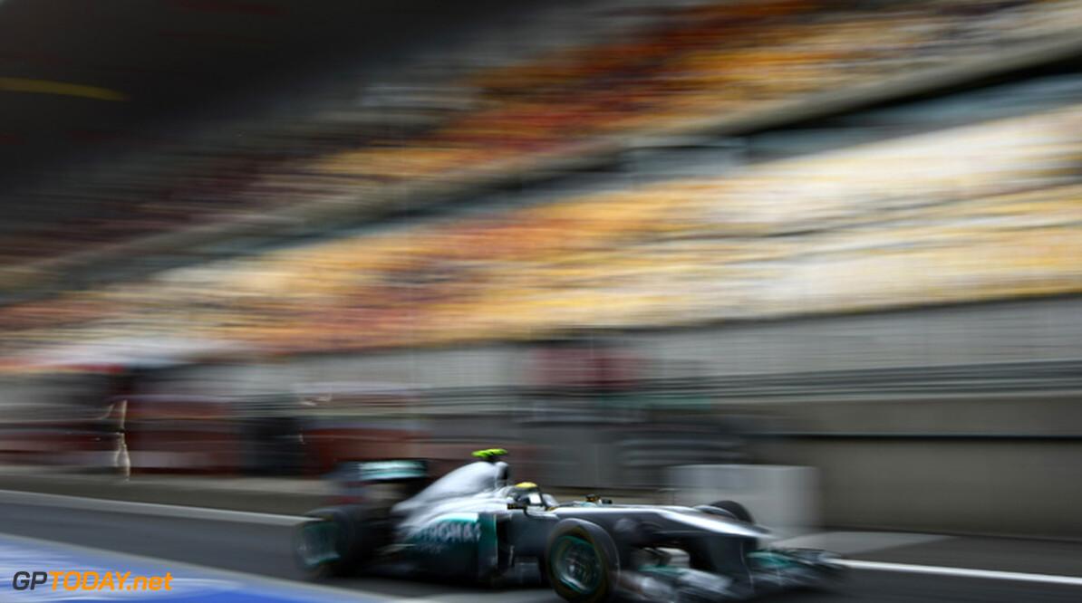 2011 Chinese Grand Prix - Saturday Shanghai International Circuit, Shanghai, China 16th April 2011 Nico Rosberg (GER), Mercedes GP World Copyright: Andrew Hone / Formula Press / LAT Photographic