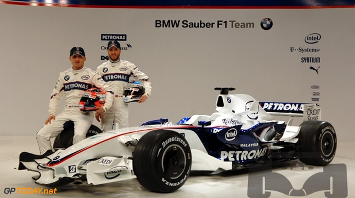 BMW Sauber verlengt contracten van Heidfeld en Kubica