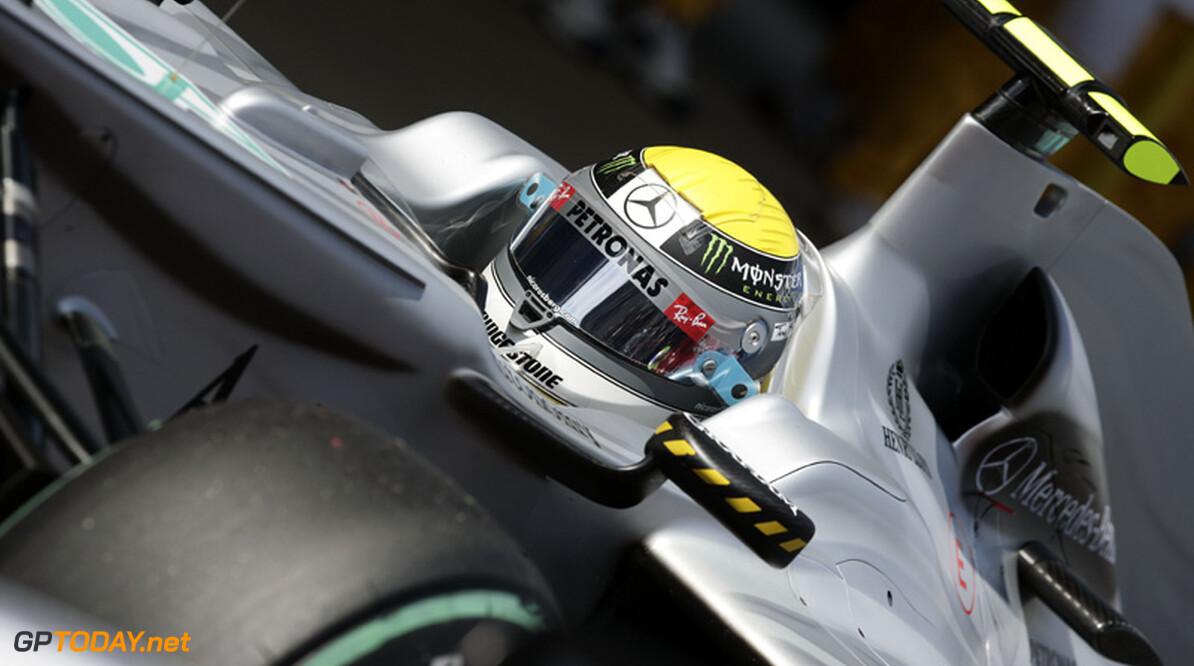 Rosberg weerspreekt dat vernieuwde W01 in zijn nadeel is