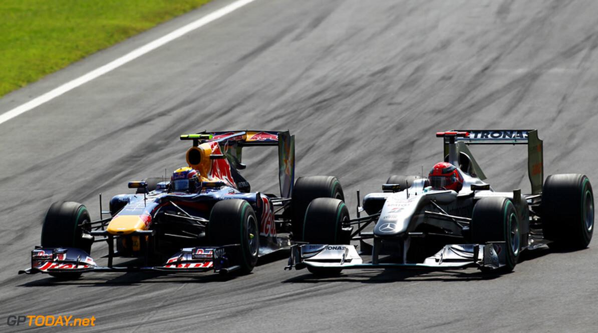 """Moss: """"Nieuwe regels over rijgedrag in nadeel van Schumacher"""""""