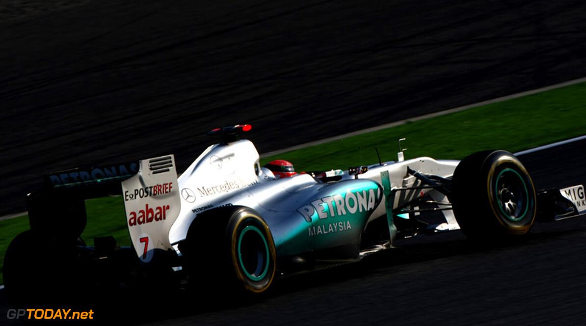Schumacher hekelt vibraties en missen van top tien kwalificatie