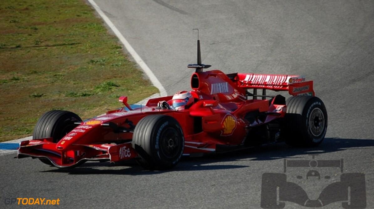 Raikkonen krijgt eerste shakedown nieuwe Ferrari