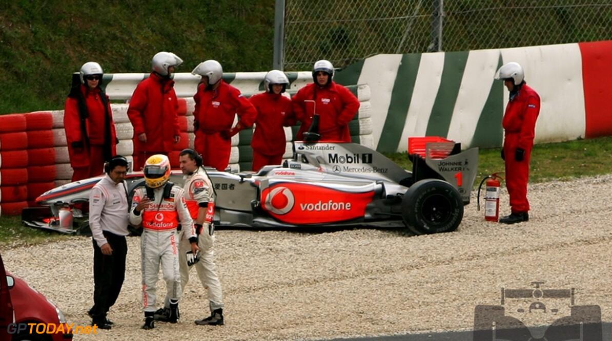 Lewis Hamilton denkt na over vertrek bij McLaren
