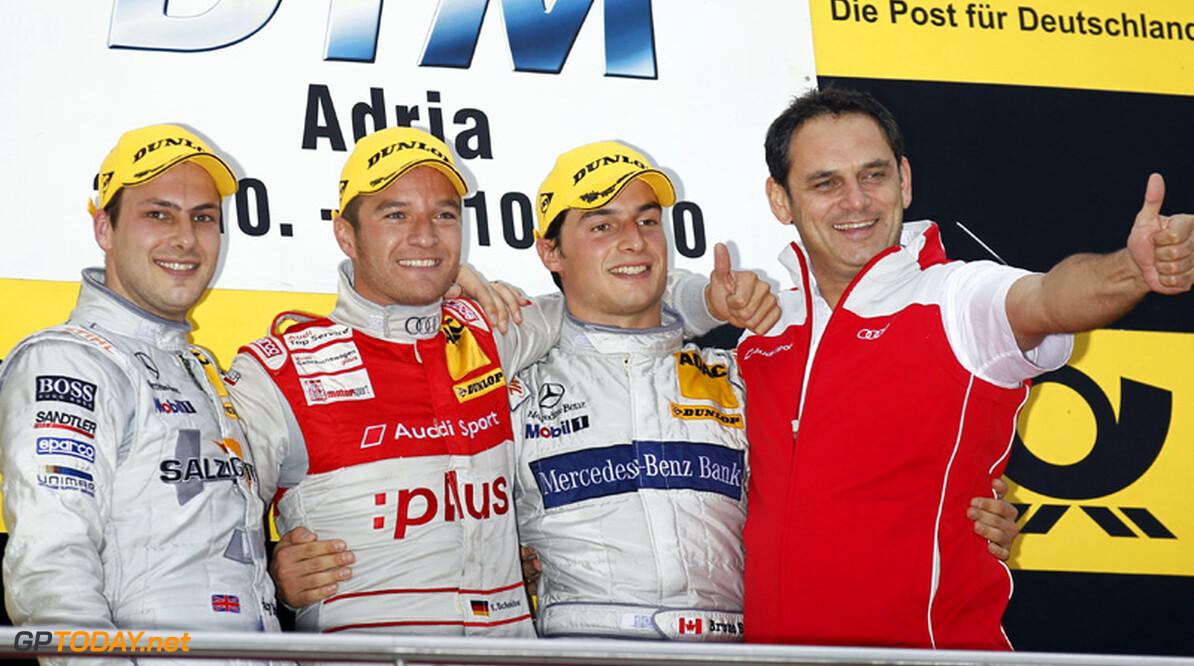 Timo Scheider sterkste in spectaculaire regenrace Adria