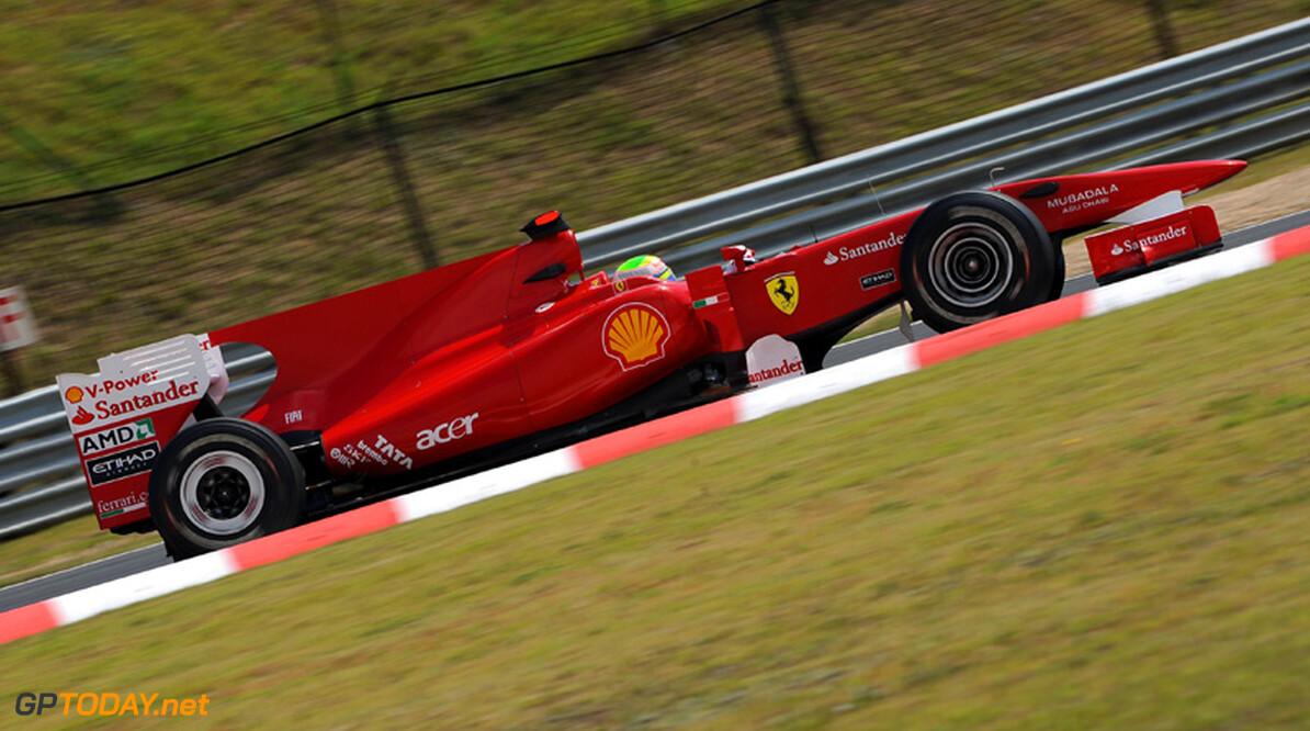 Massa dankbaar voor support van Ferrari in moeilijke periode