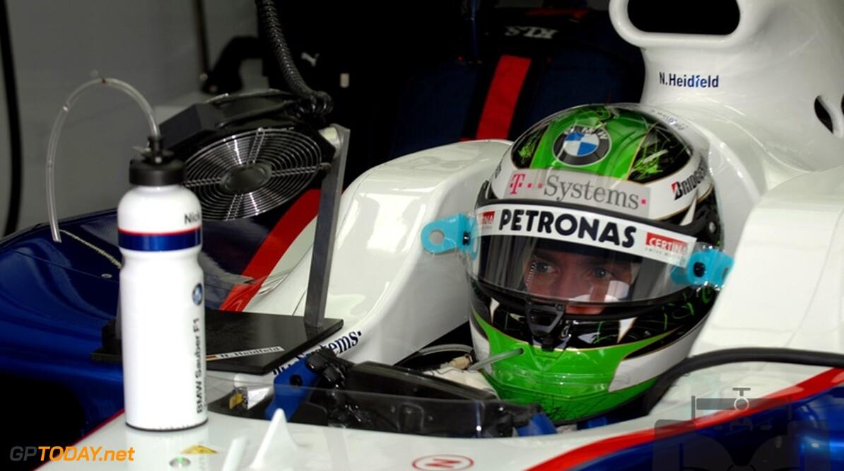 Nick Heidfeld voert gesprekken en hoopt op Mercedes GP