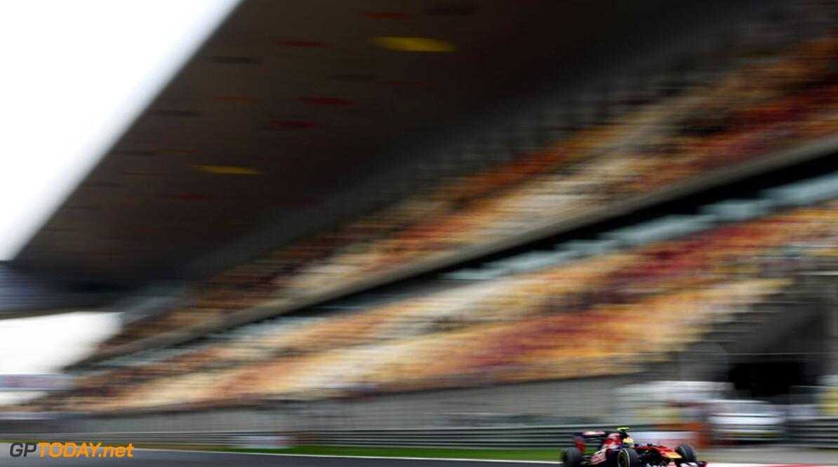 2011 Chinese Grand Prix - Saturday Shanghai International Circuit, Shanghai, China 16th April 2011 Jaime Alguersuari (ESP), Scuderia Toro Rosso World Copyright: Andrew Hone / Formula Press / LAT Photographic