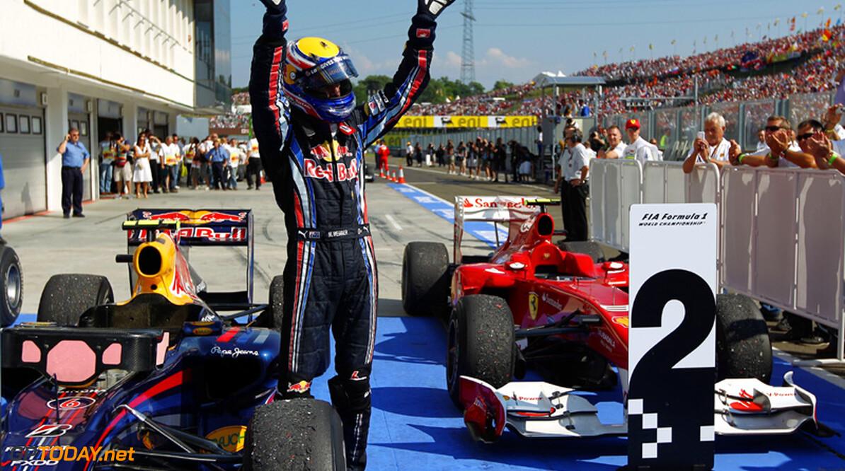 Mark Webber nieuwe leider in kampioenschap na sterke overwinning