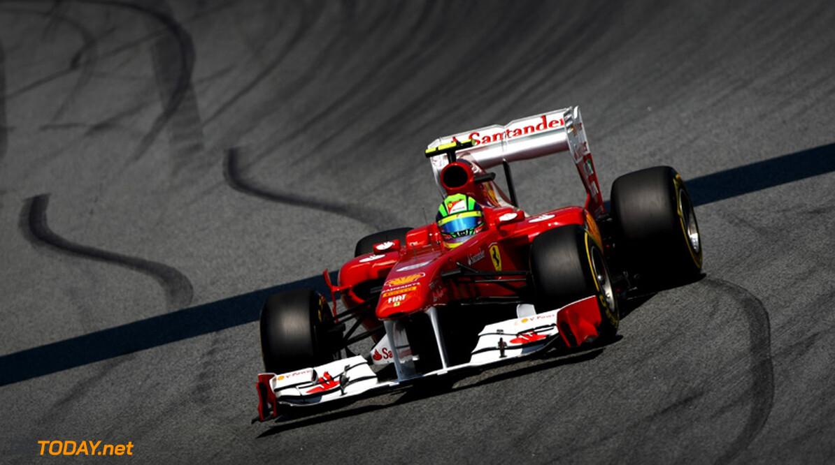 Felipe Massa onzeker over toekomst bij Ferrari na 2012