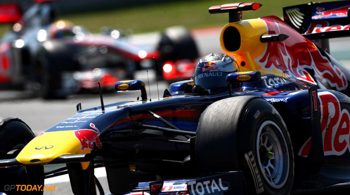 VT3: Sebastian Vettel verslaat Alonso in zaterdagtraining
