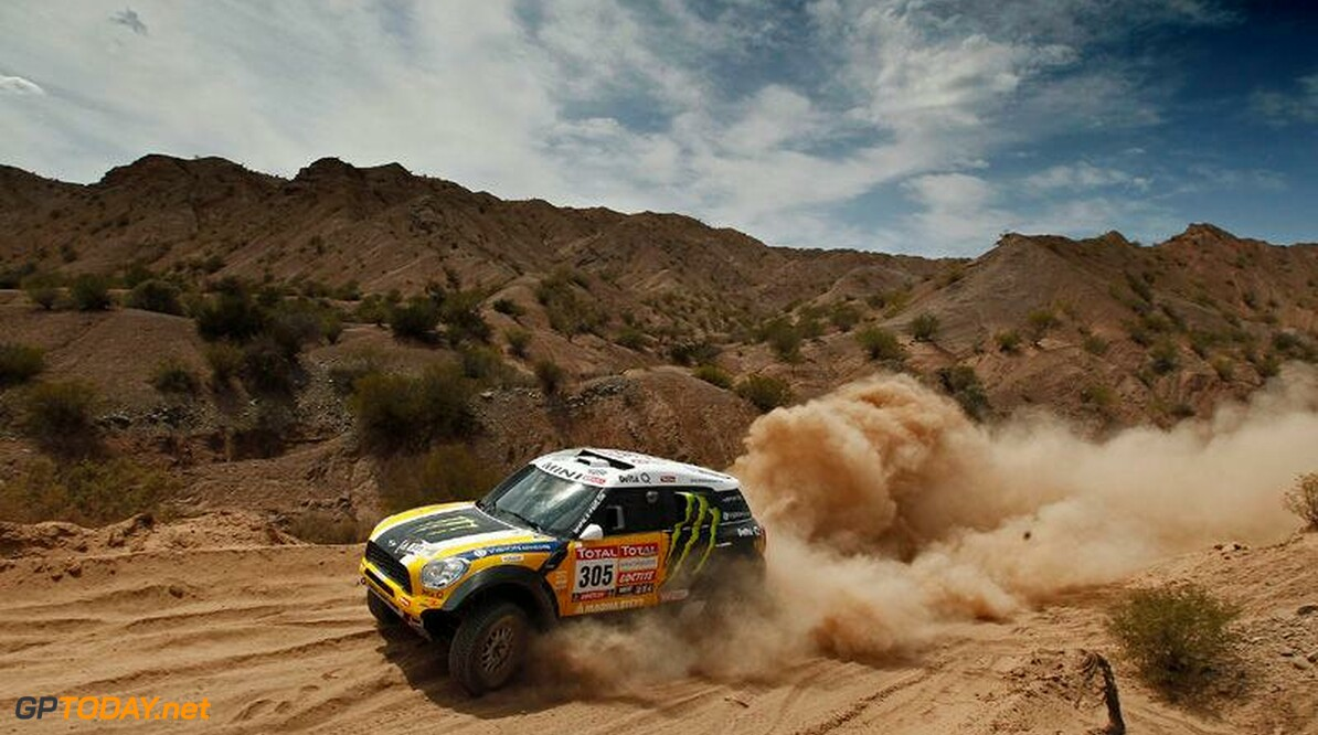 <b>Dakar:</b> Leonid Novitskiy completes X-Raid Mini line-up