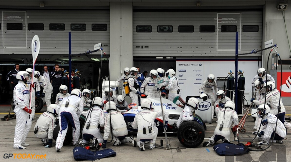 BMW Sauber introduceert updates in Valencia